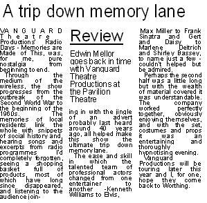 Worthing Herald review